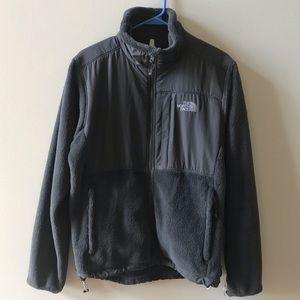 Gray North Face Jacket